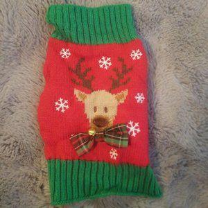 Reindeer XS Dog Sweater